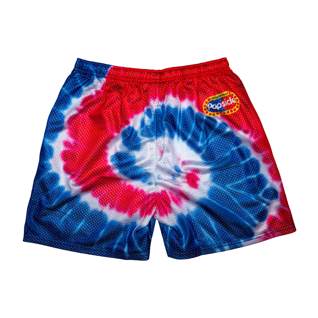 Cyclone Tie Dye Retro Popsicle Shorts