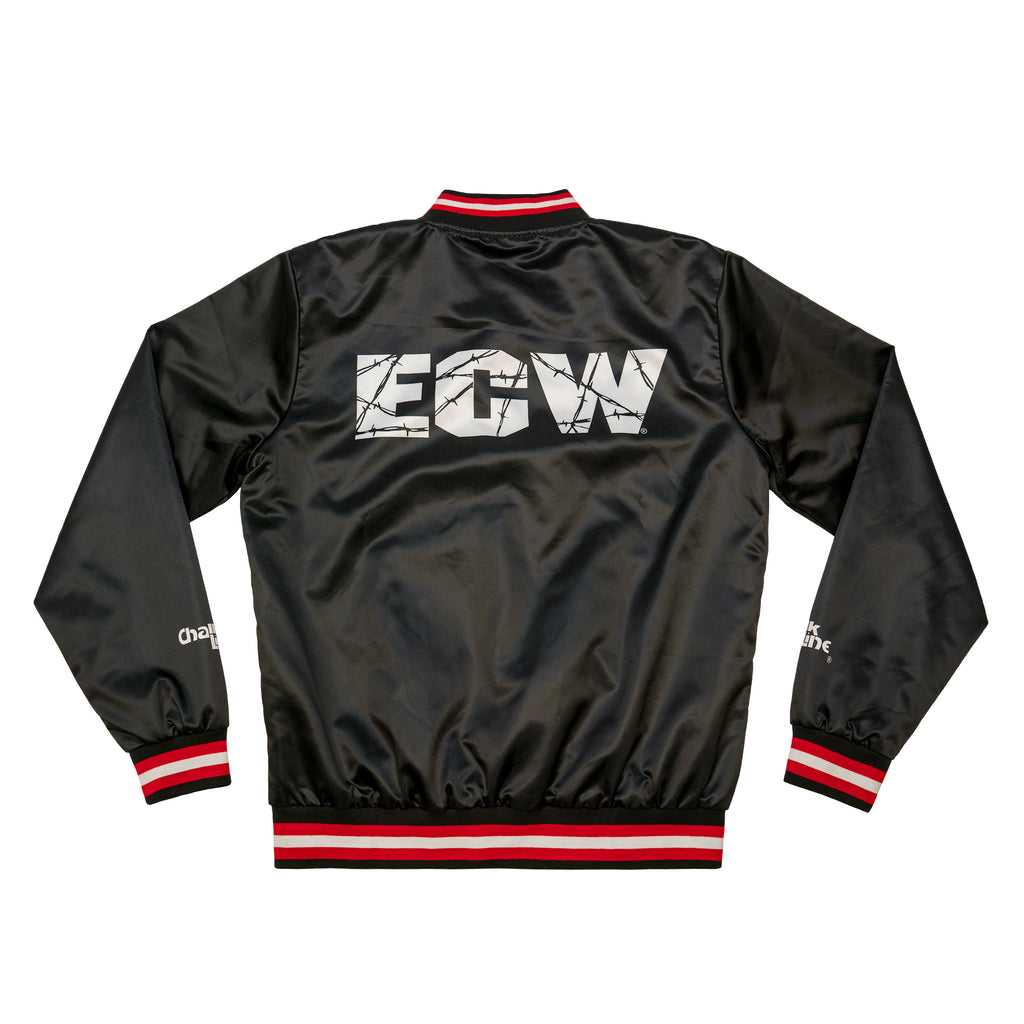 ECW Retro Logo Satin Jacket