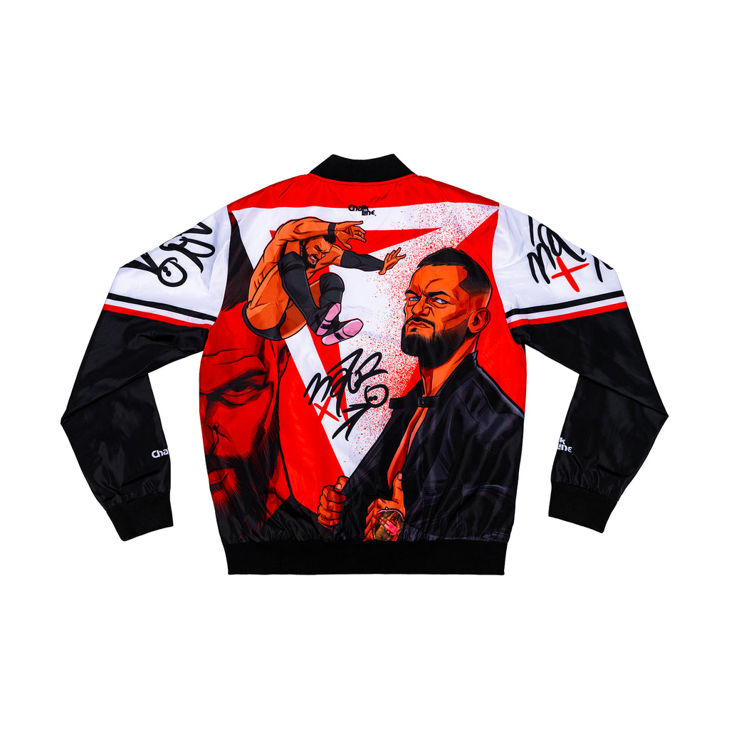 Finn Balor Retro Illustrated Fanimation Jacket