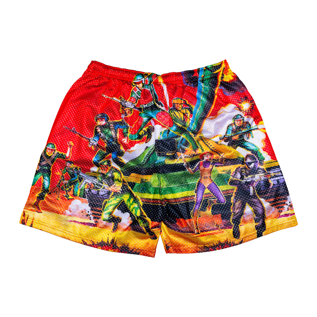 G.I. Joe Retro Hero Shorts