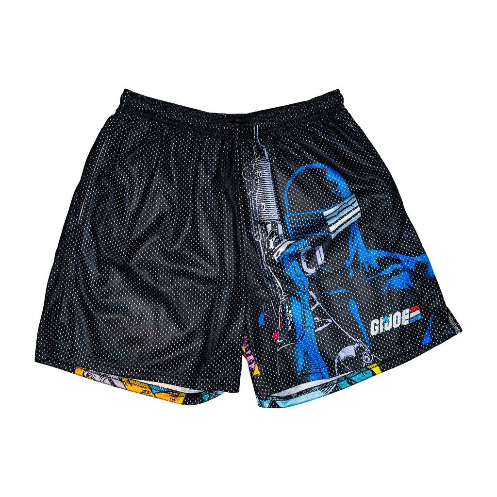 G.I. Joe Retro Snake Eyes Shorts