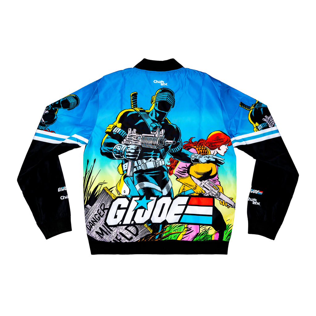 GI Joe Retro Snake Eyes Fanimation Jacket