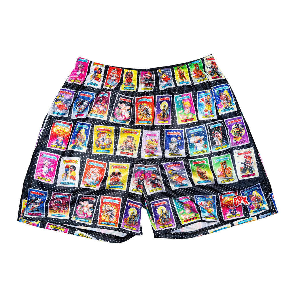 Garbage Pail Kids Retro Card Shorts