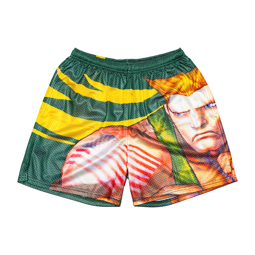 Guile Retro Street Fighter Shorts