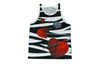 WWE Shawn Michaels Zebra Tank Top