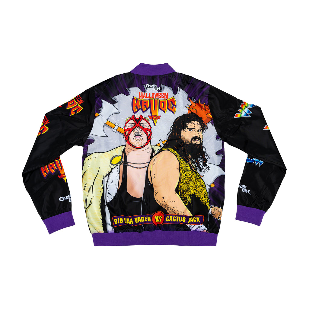 Vader vs Cactus Jacket Retro Fanimation Jacket