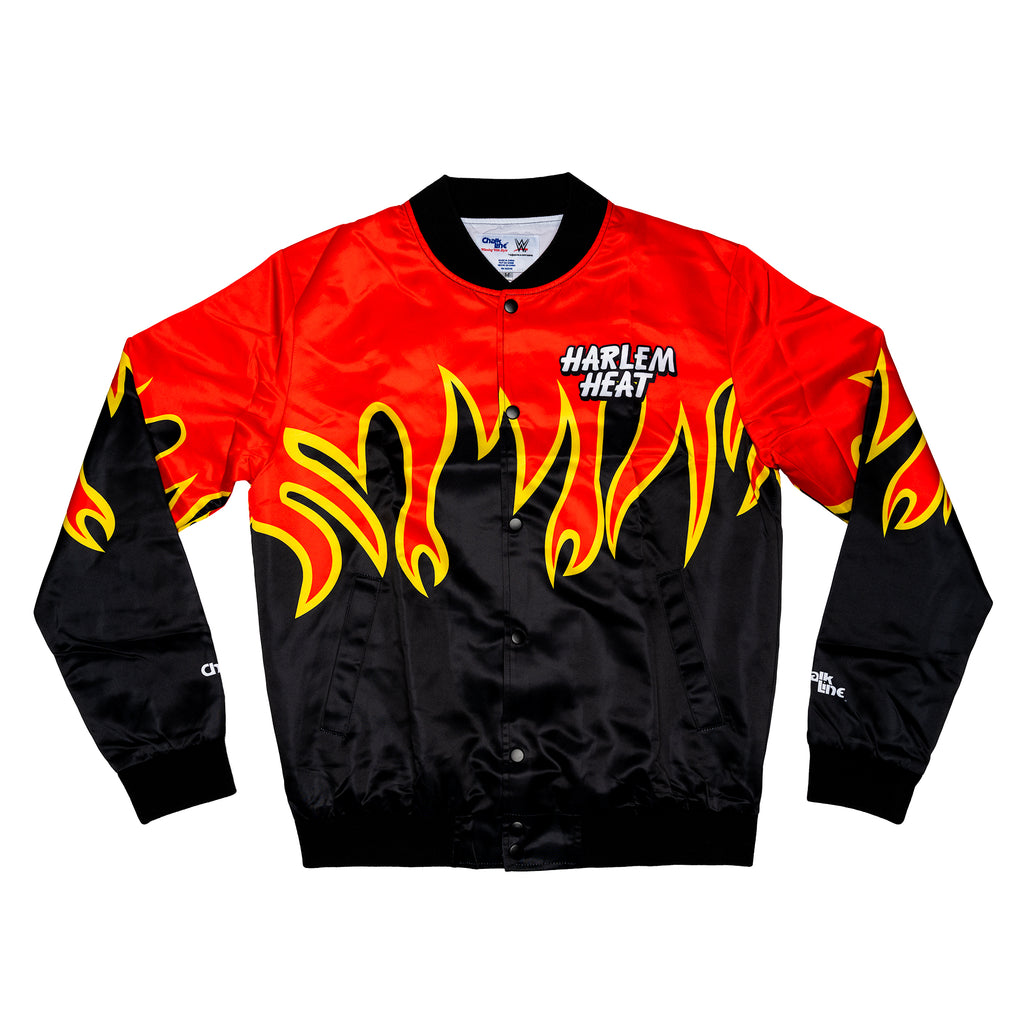 Harlem Heat Retro Satin Entrance Jacket
