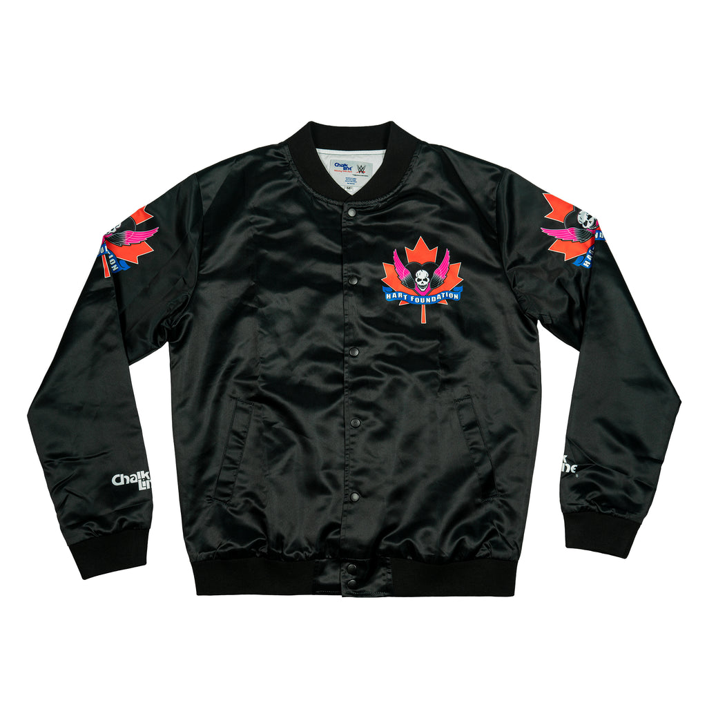 The Hart Foundation Retro Maple Leaf Jacket