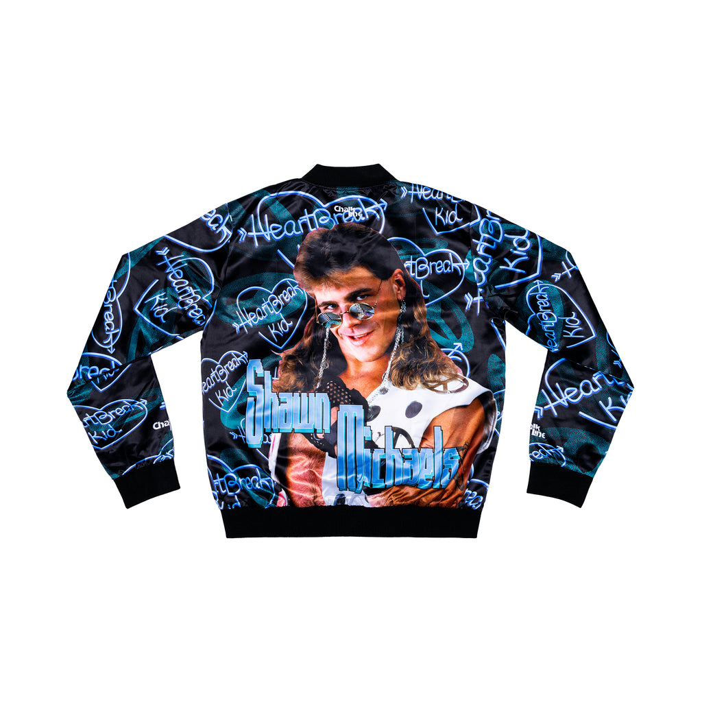 HBK Retro AOP Satin Jacket