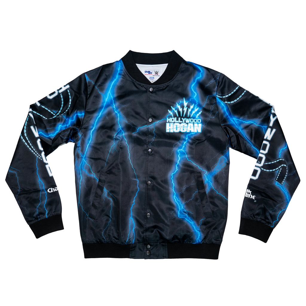 Hollywood Hogan Satin Entrance Jacket