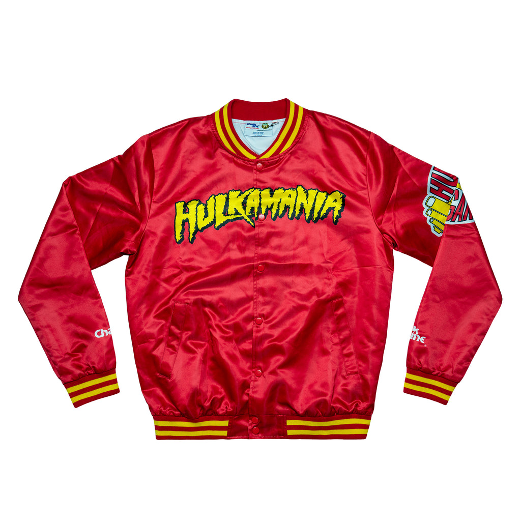 Hulk Hogan Python Power Satin Jacket