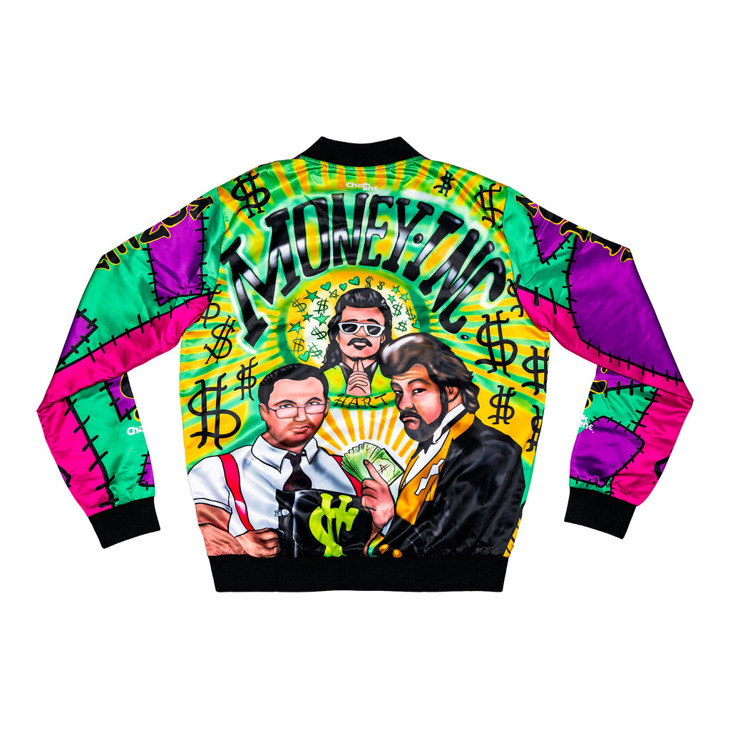 Jimmy Hart Money Inc. Satin Entrance Jacket