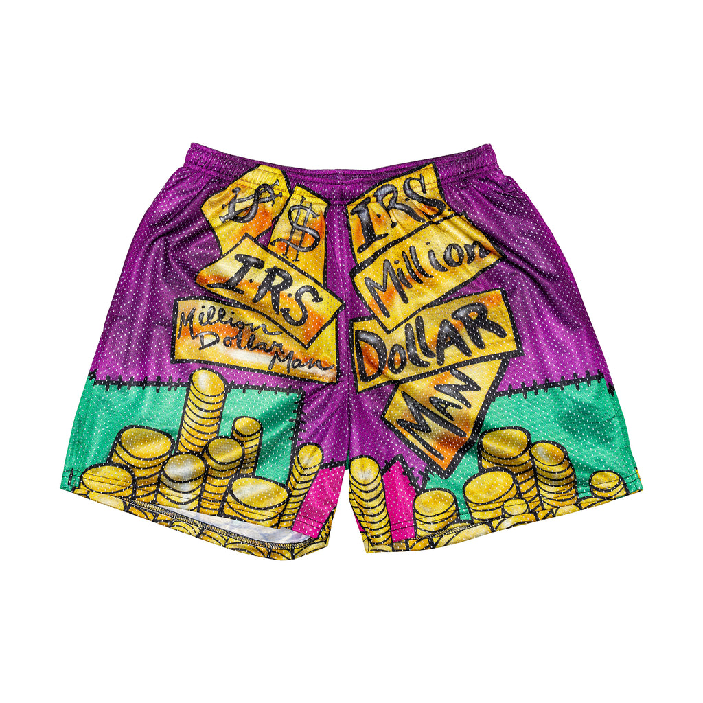 Money Inc. Retro Shorts