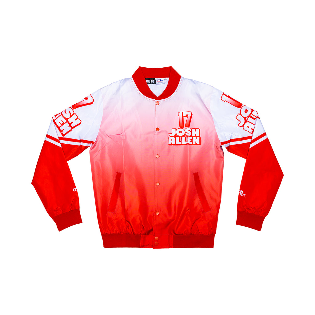 Josh Allen Retro NFLPA Fanimation Jacket
