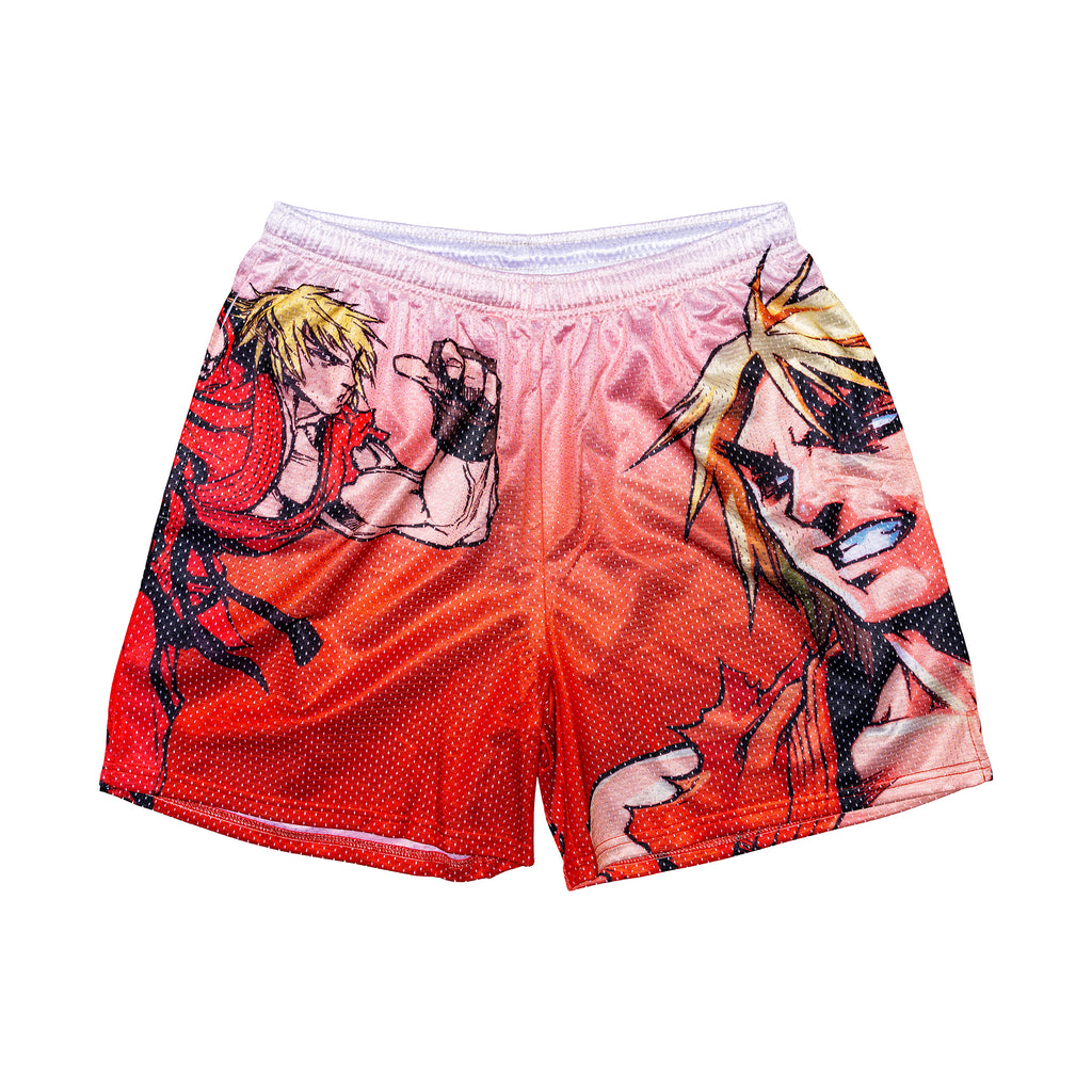 Ken Retro Street Fighter Shorts