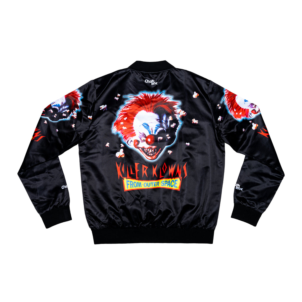 Killer Klowns Satin Logo Jacket