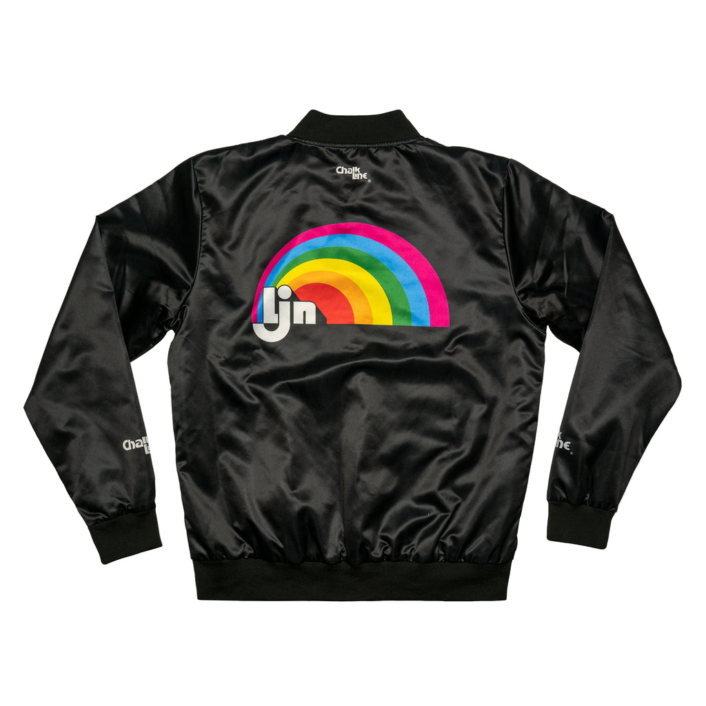LJN Retro Satin Logo Jacket