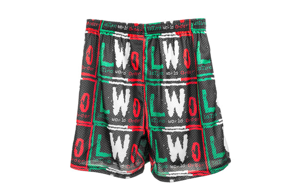 LWO All Over Logo Shorts