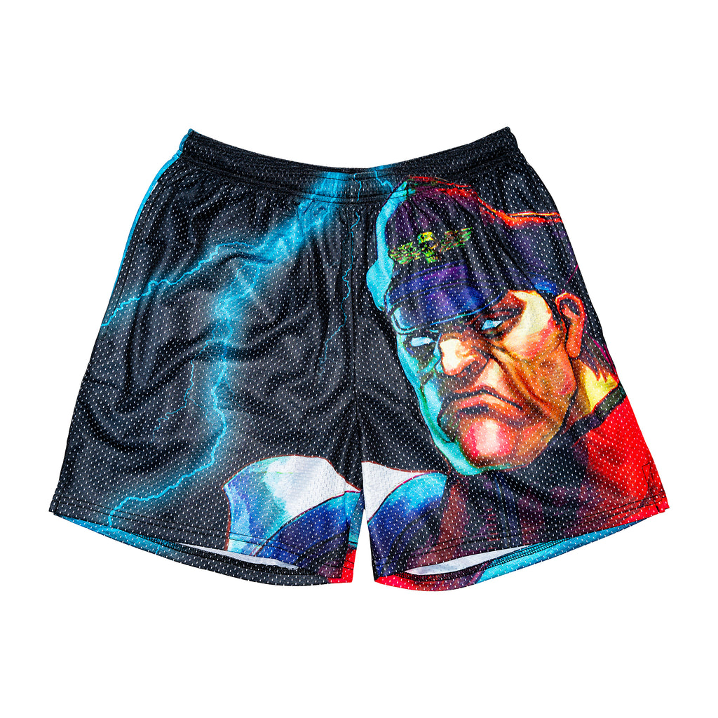 M. Bison Retro Street Fighter Short