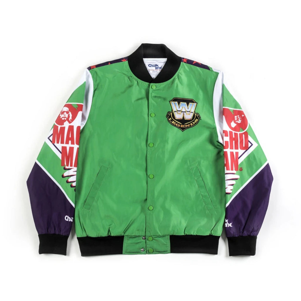 WWE Retro Macho Man Fanimation Jacket
