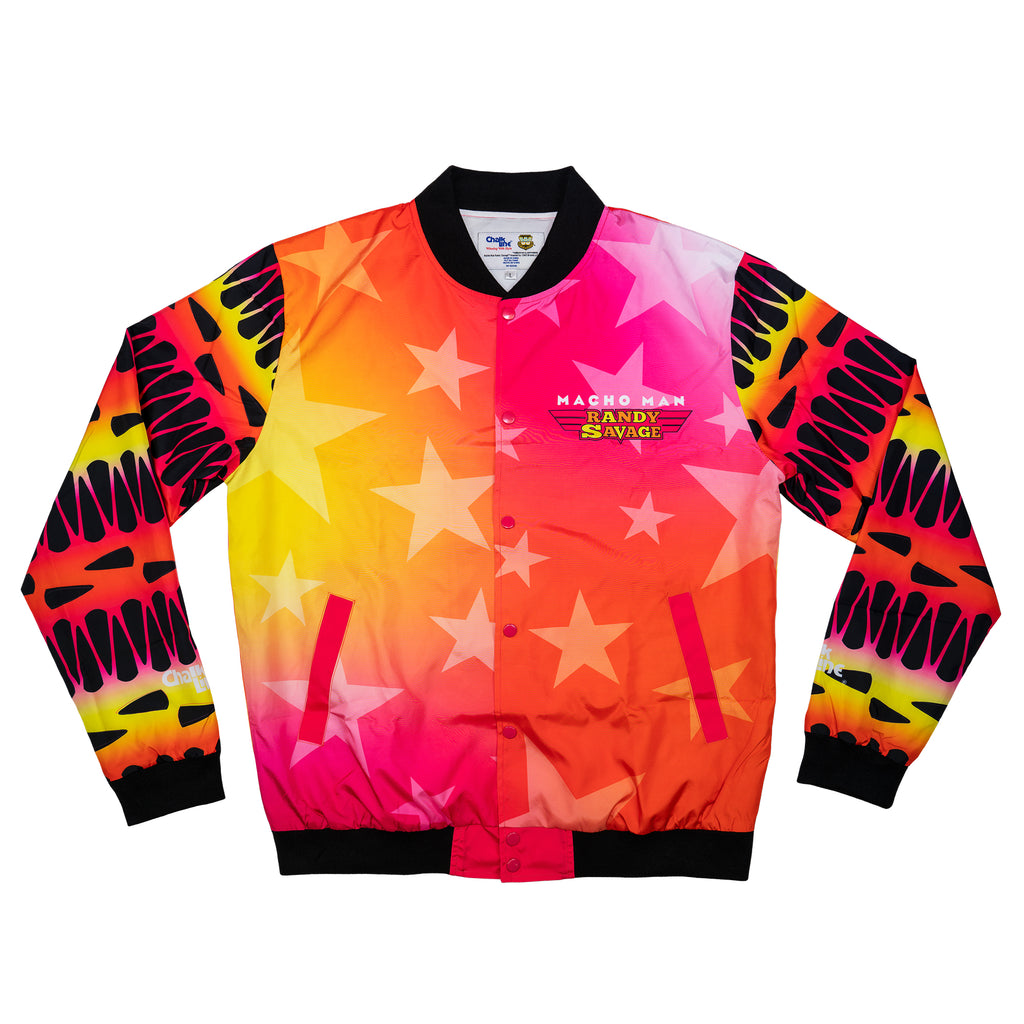 Macho Man WWE Retro Portrait Jacket