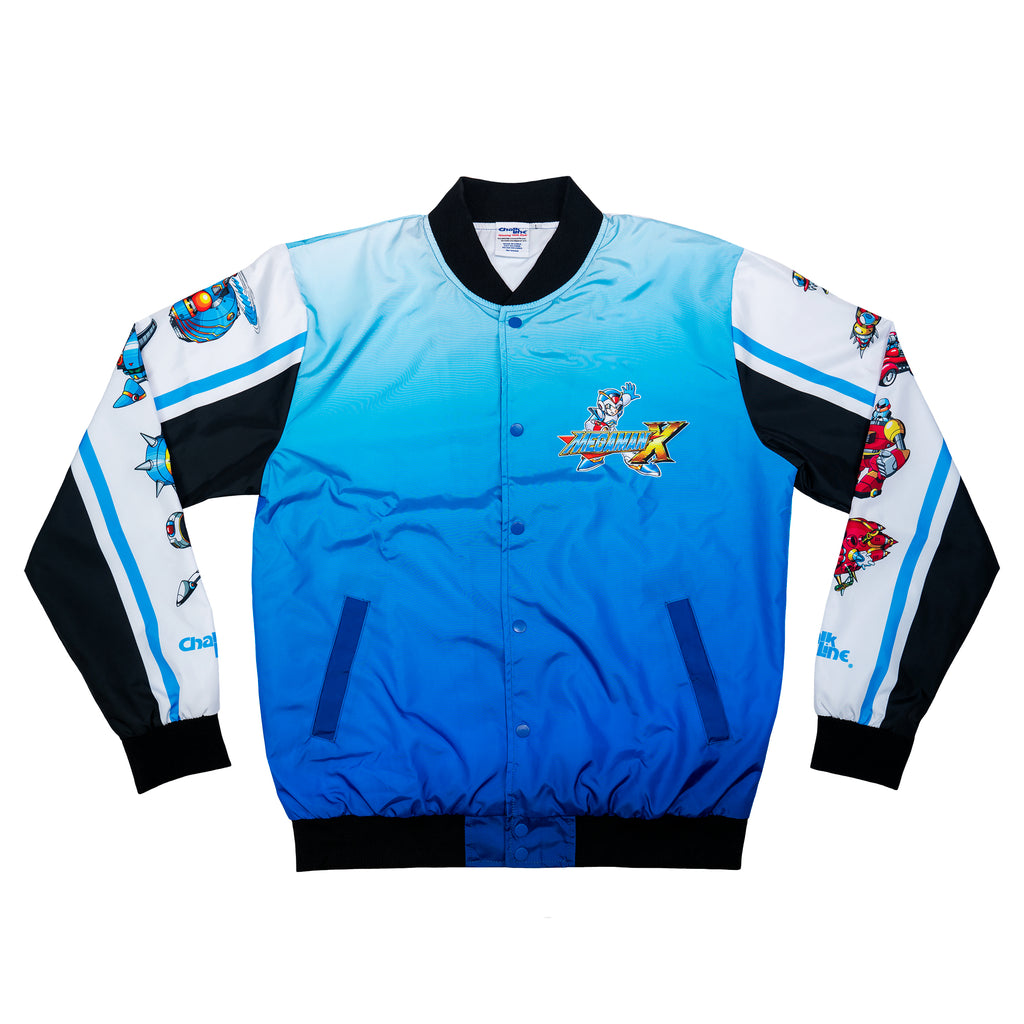 Mega Man X Retro Fanimation Jacket