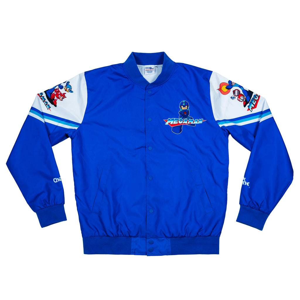 Mega Man Multi Character Retro Fanimation Jacket