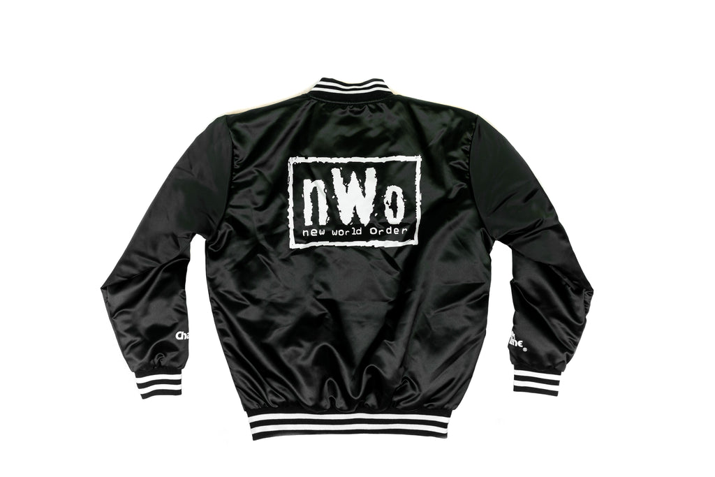 NWO Black/White Retro Satin WWE Jacket