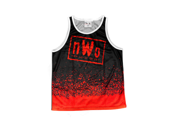 WWE NWO Wolfpac Fanimation Tank Top