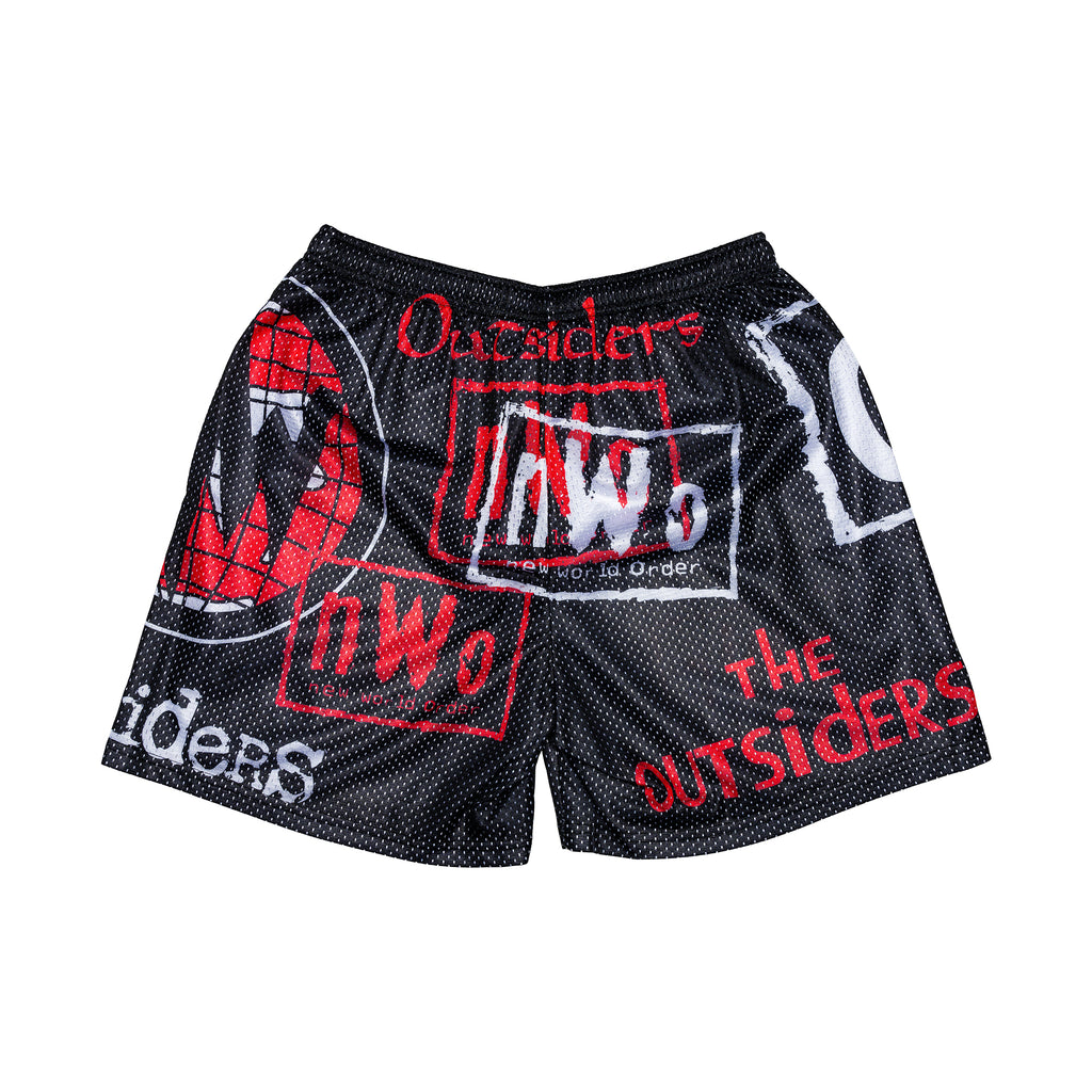 Outsiders Retro AOP Logo Shorts