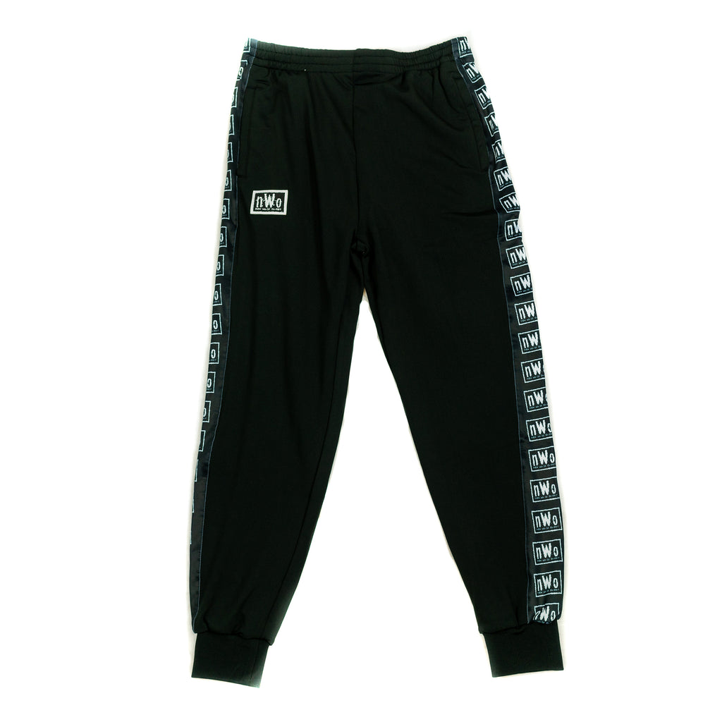 NWO Black/White Logo Track Pants