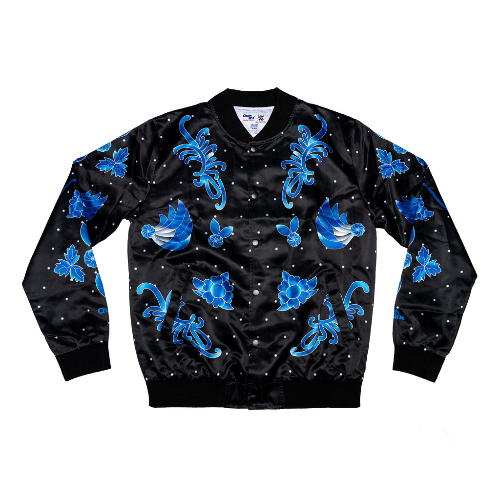 Ric Flair Black & Blue Retro Entrance Jacket