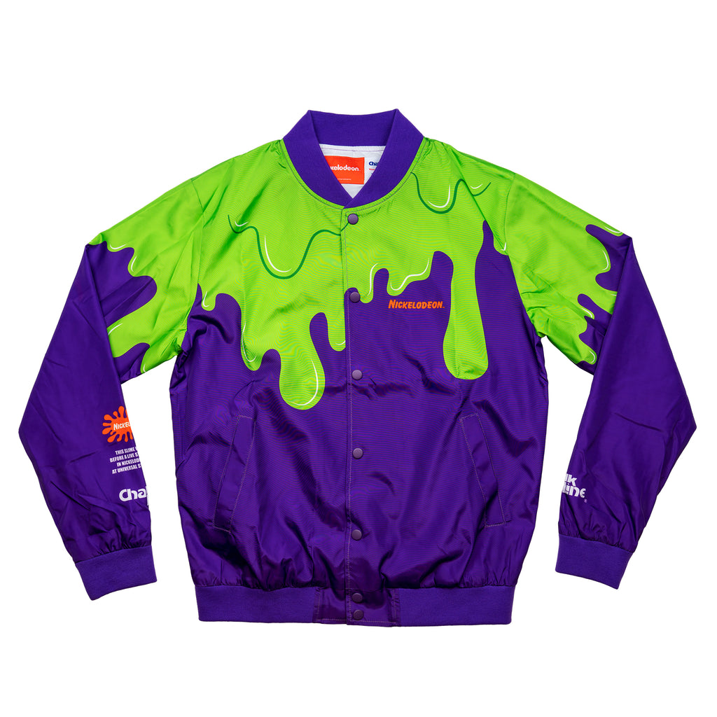 Purple Slime Retro Fanimation Jacket