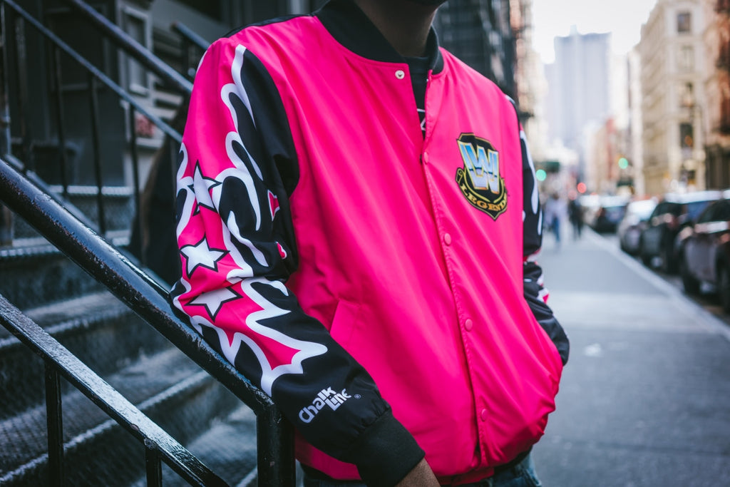 WWE Retro Bret Hart Fanimation Jacket