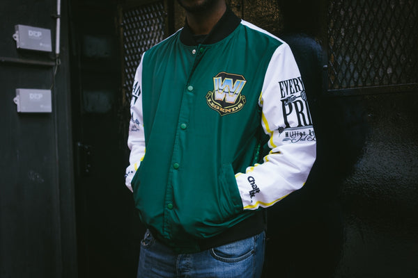 WWE Retro Ted Dibiase Million Dollar Man Fanimation Jacket