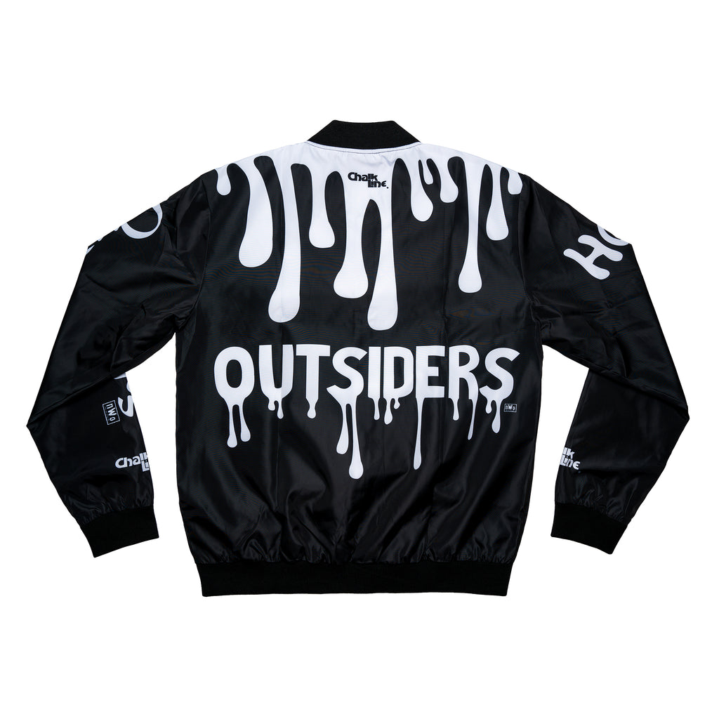 Outsiders Black & White Fanimation Jacket