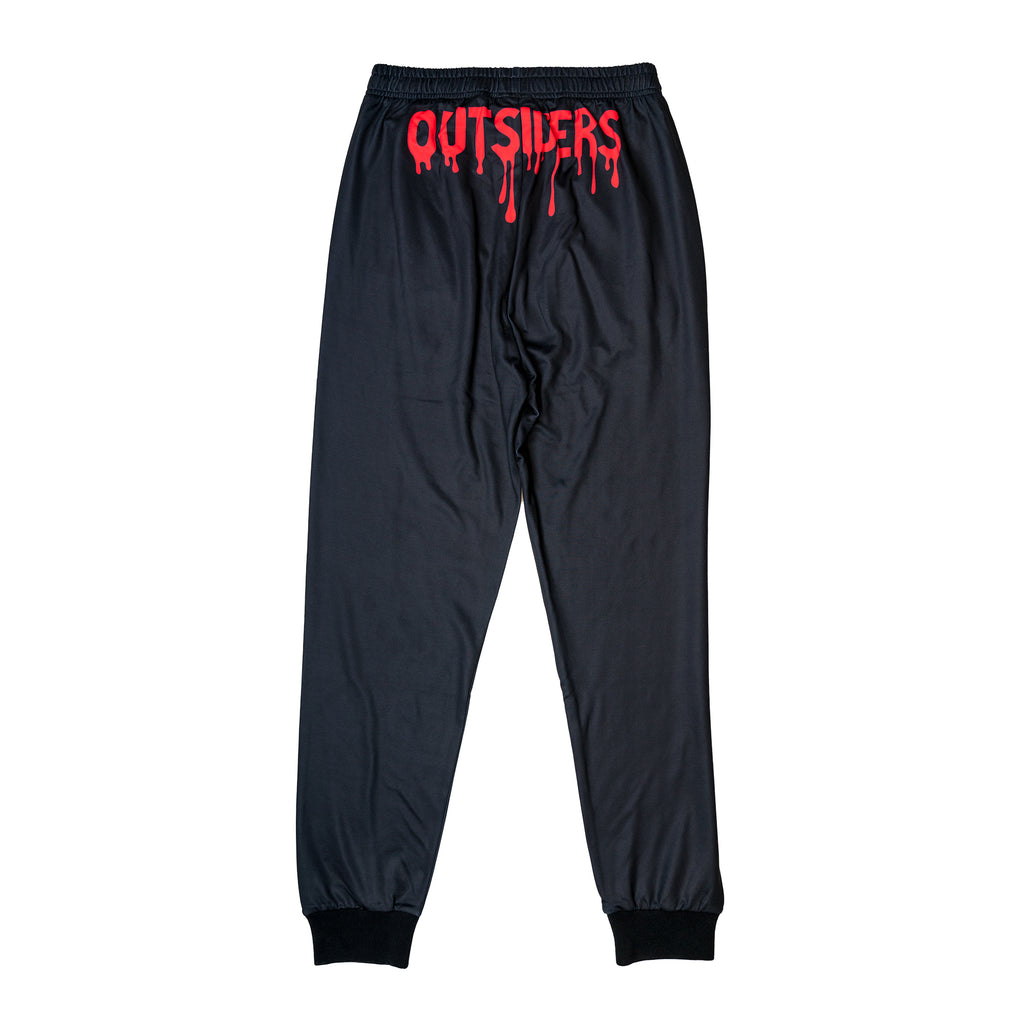 Outsiders Red/Black Retro Track Pants