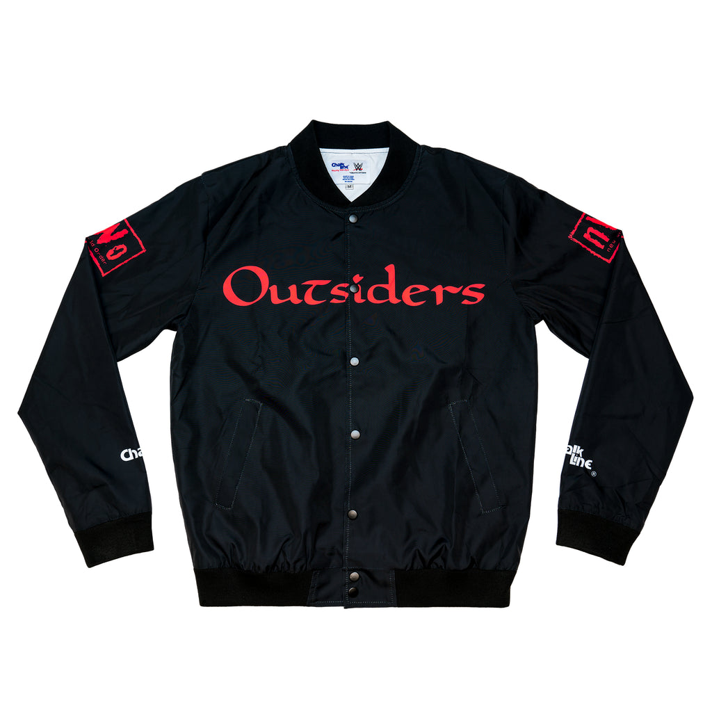 Outsiders Black/Red Logo Fanimation Jacket