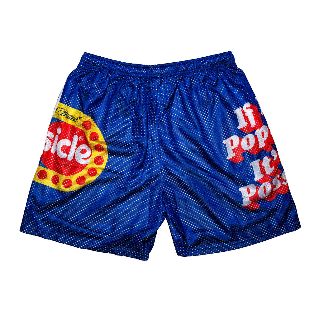 Popsicle Retro Logo Shorts