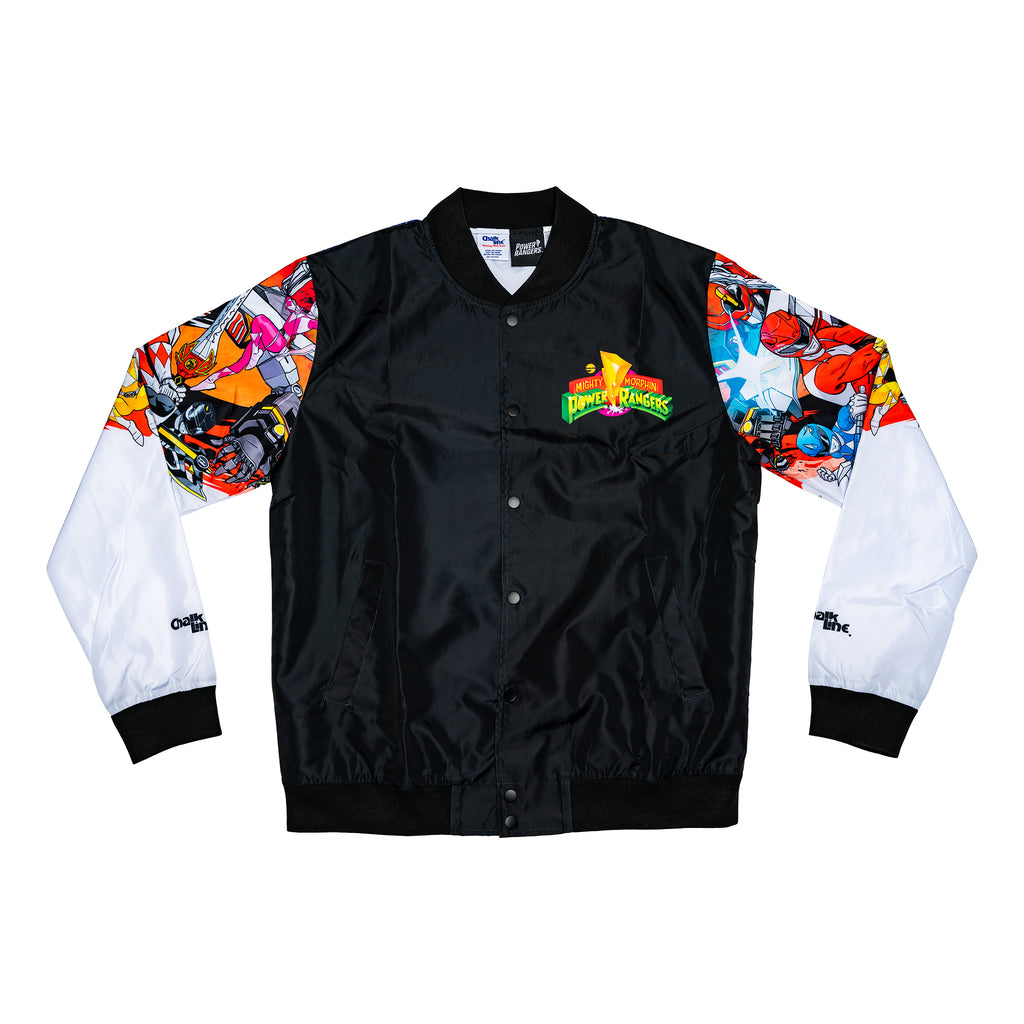 Mighty Morphin Power Rangers Retro Fanimation Jacket
