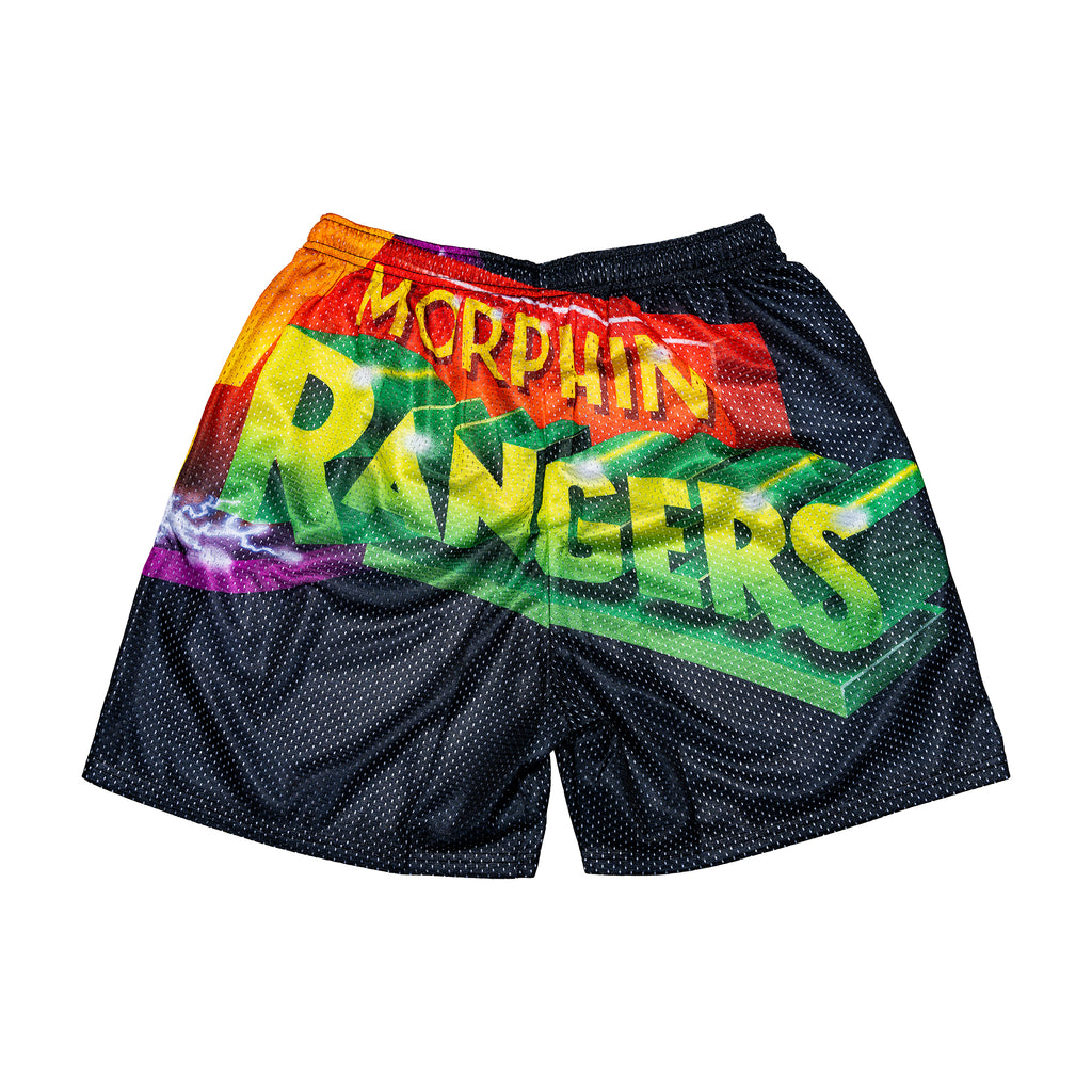 Power Ranger Retro Oversize Logo Shorts