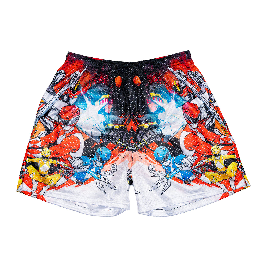 Power Ranger Retro Split Shorts