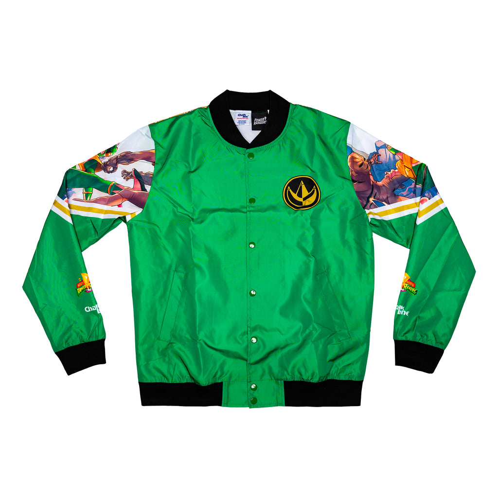 Green Ranger Retro Comic Fanimation Jacket