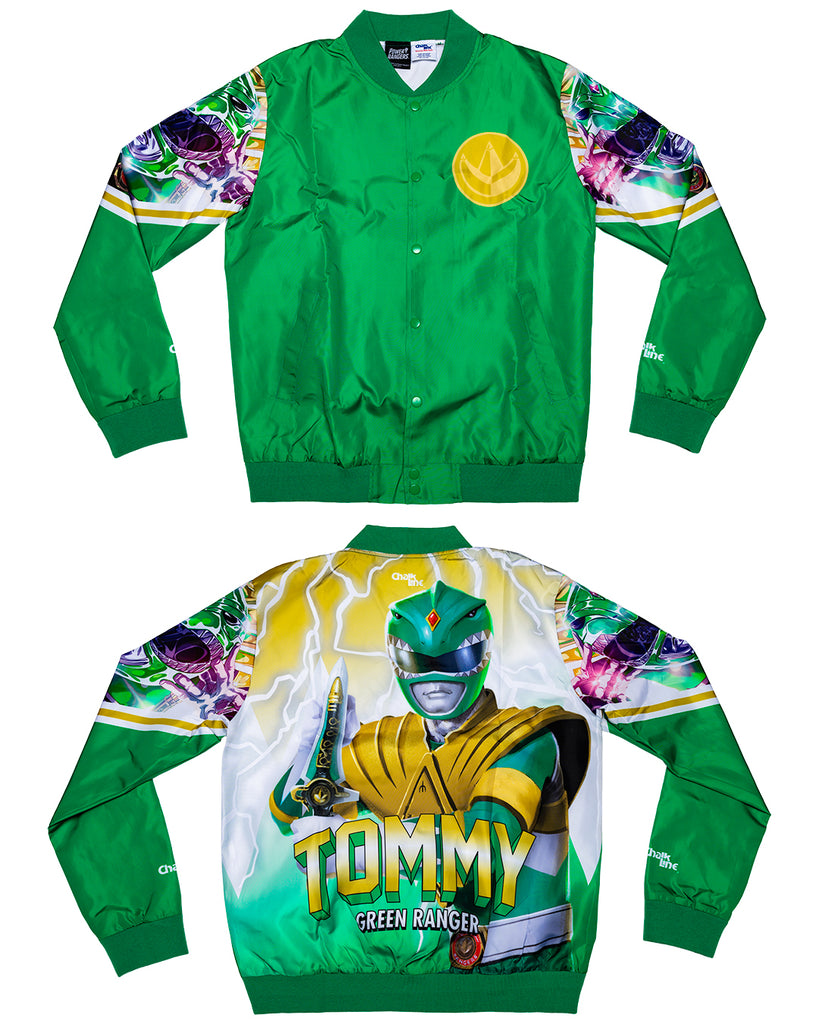 Power Rangers Retro Tommy Fanimation Jacket