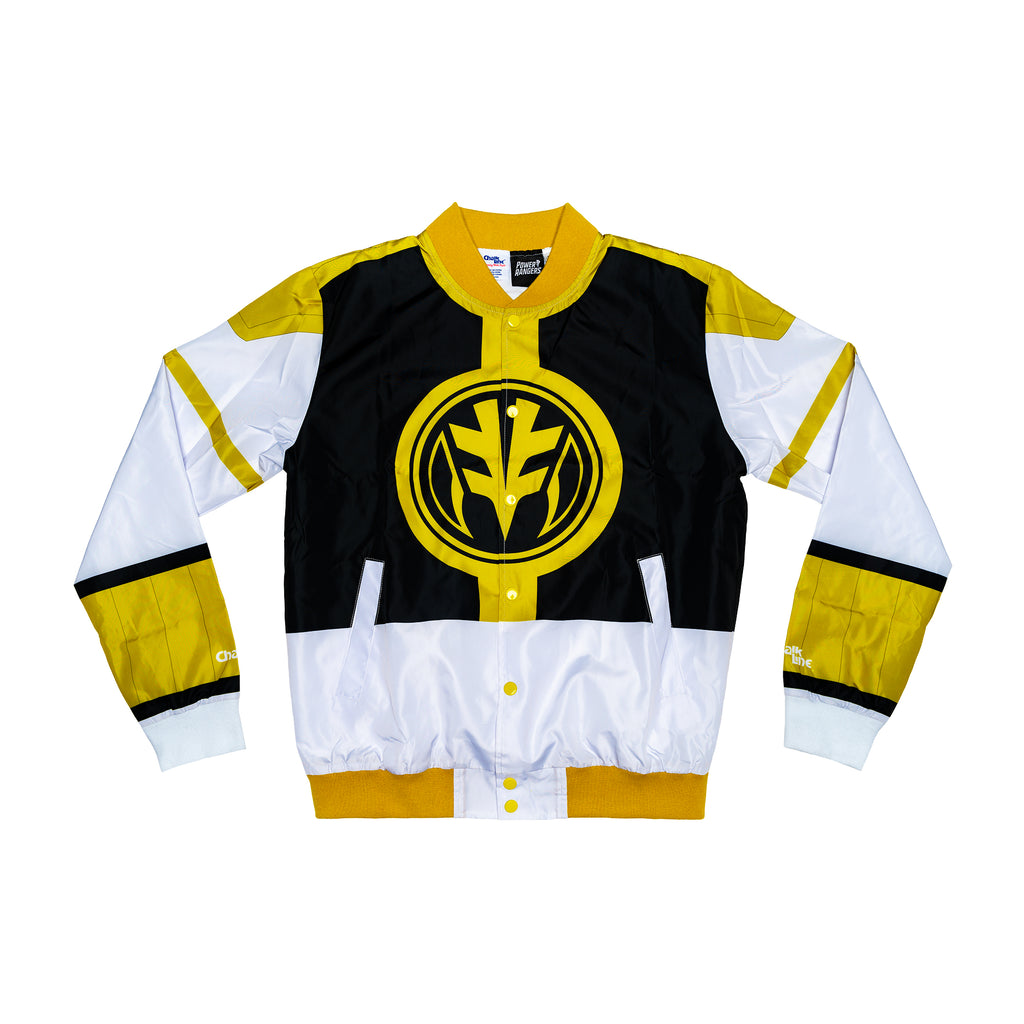 White Ranger Retro Power Rangers Jacket