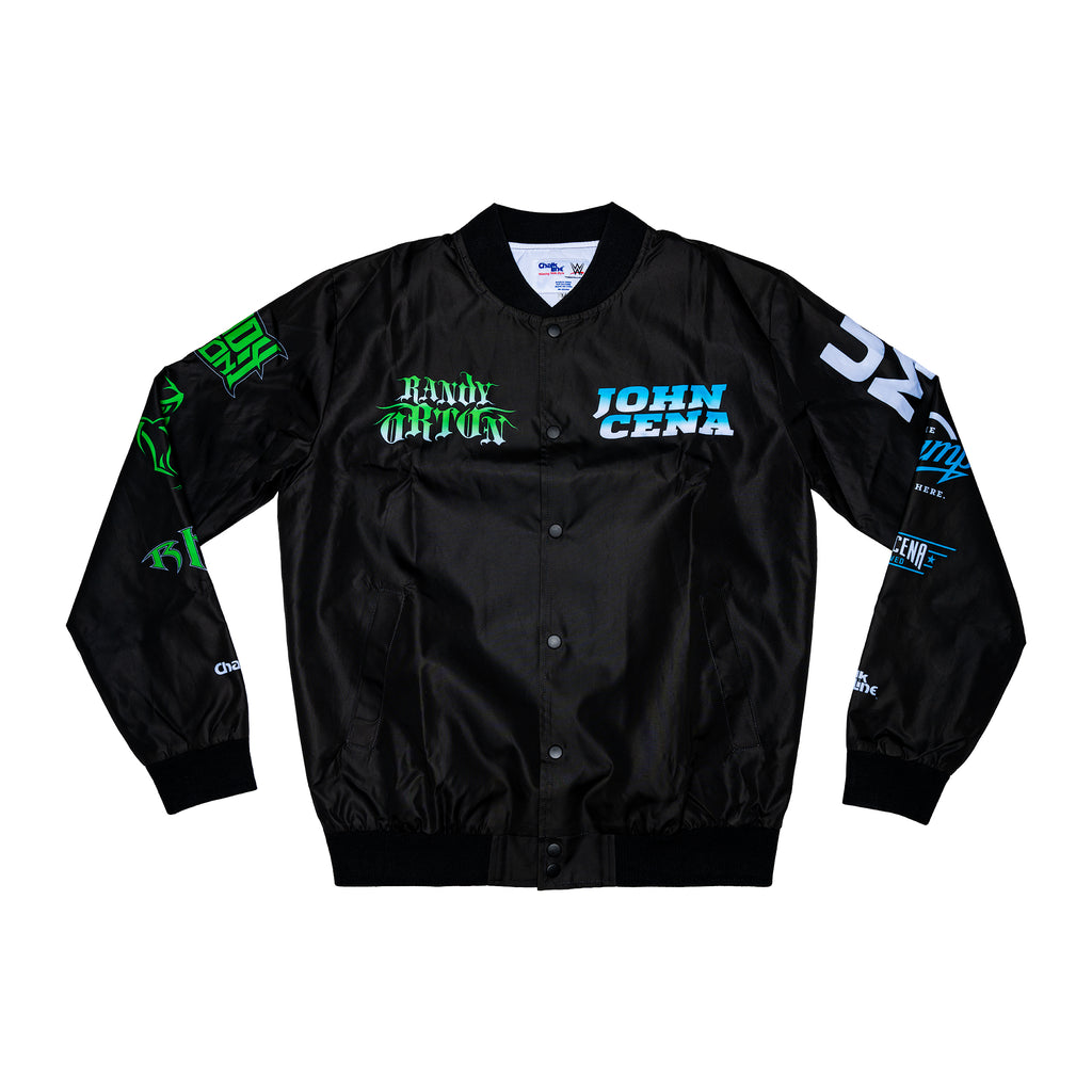 Randy Orton vs John Cena Retro Fanimation Jacket