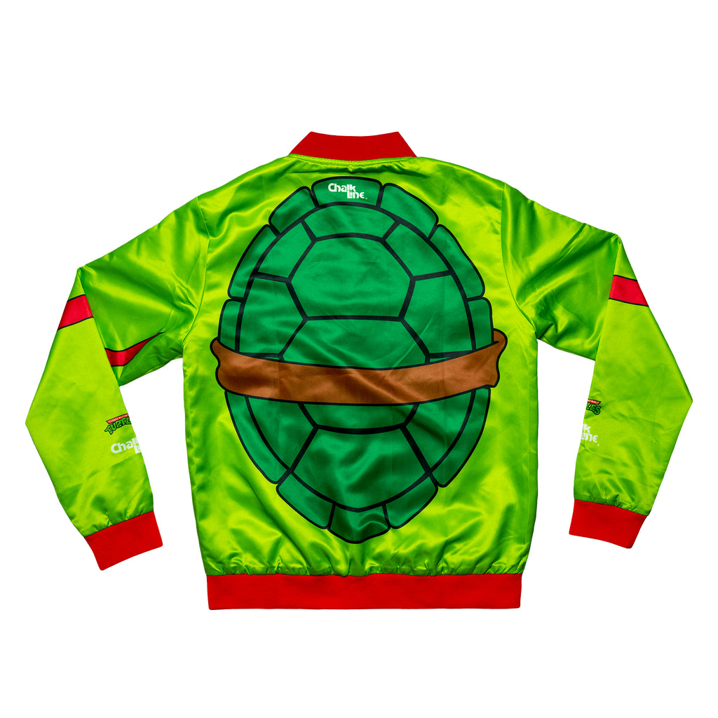 Raphael Retro Nickelodeon Satin Jacket