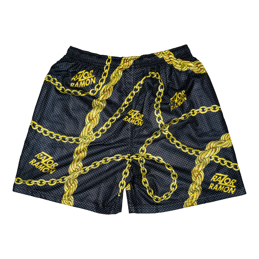 Razor Ramon Retro Chain Shorts