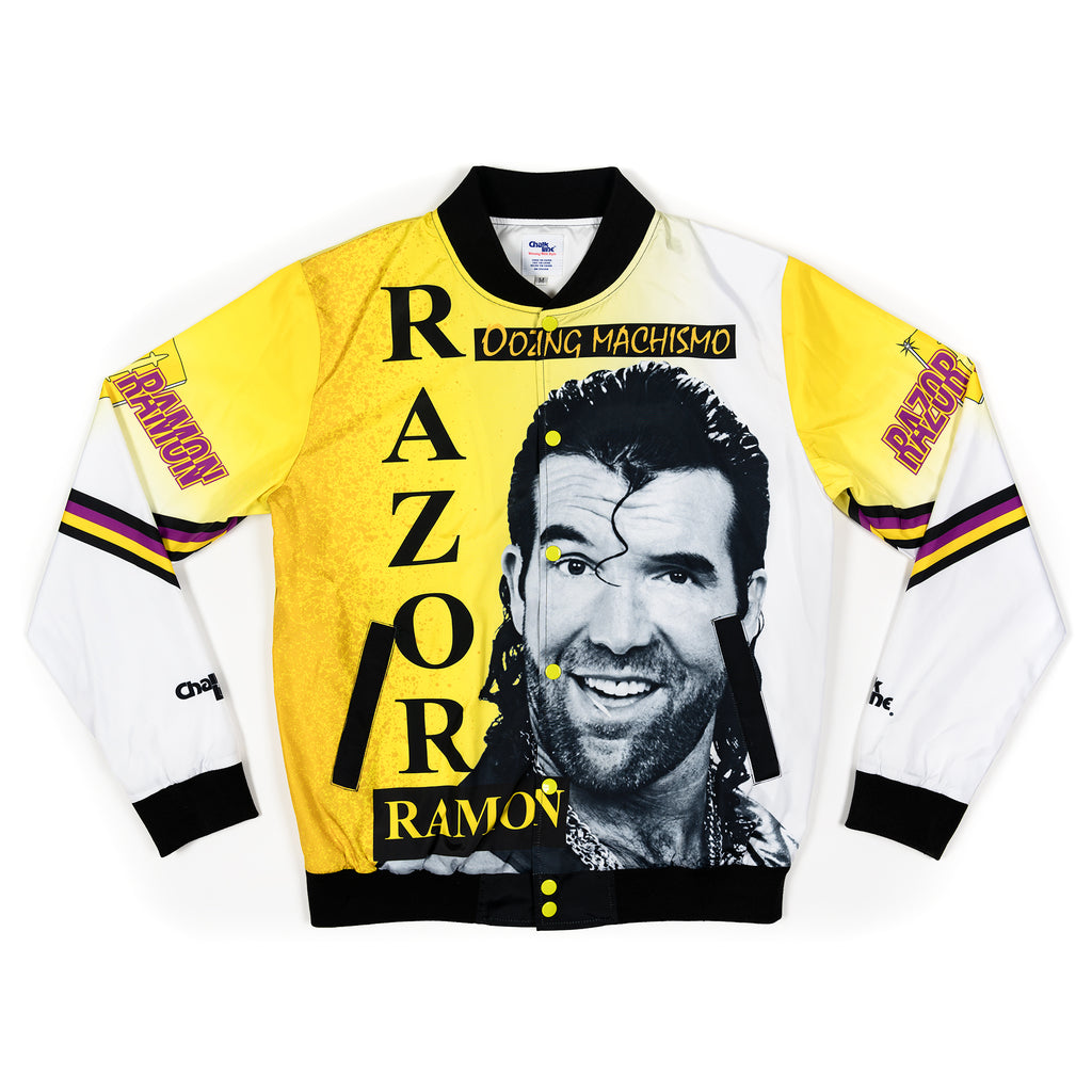 Razor Ramon Oozing Machismo Retro Fanimation Jacket