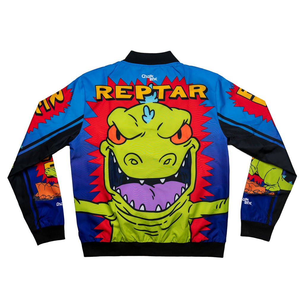 Reptar Retro Nickelodeon Fanimation Jacket